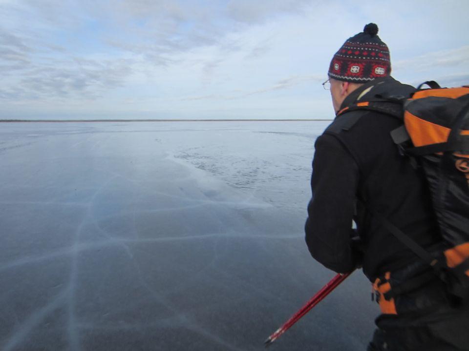 Гладкий лед своими руками